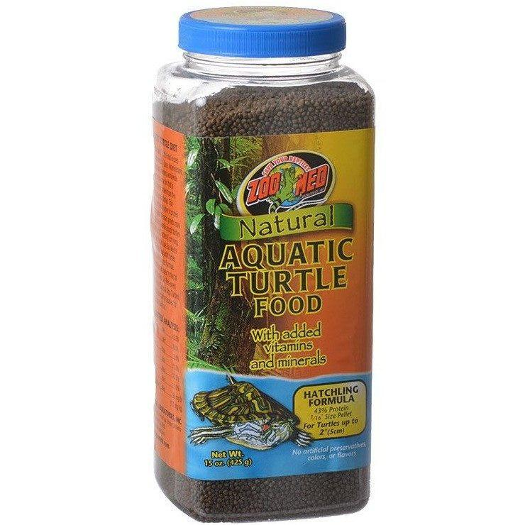 Zoo Med Natural Aquatic Turtle Food - Hatchling Formula (Pellets)