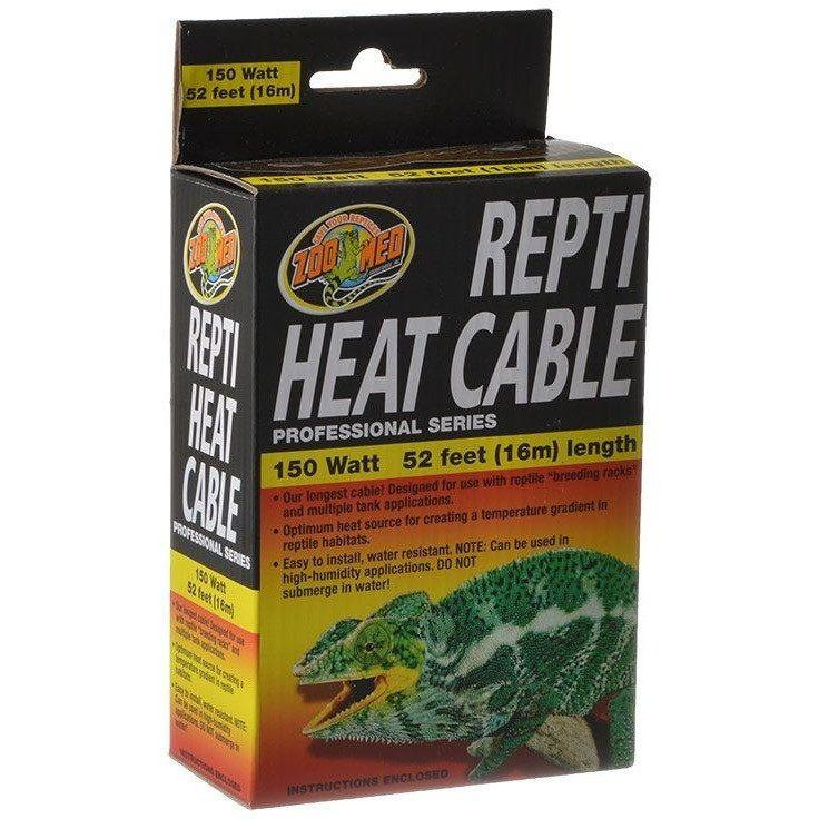 Zoo Med Repti Heat Cable Heating Zoo Med 150 Watts (50' Long)