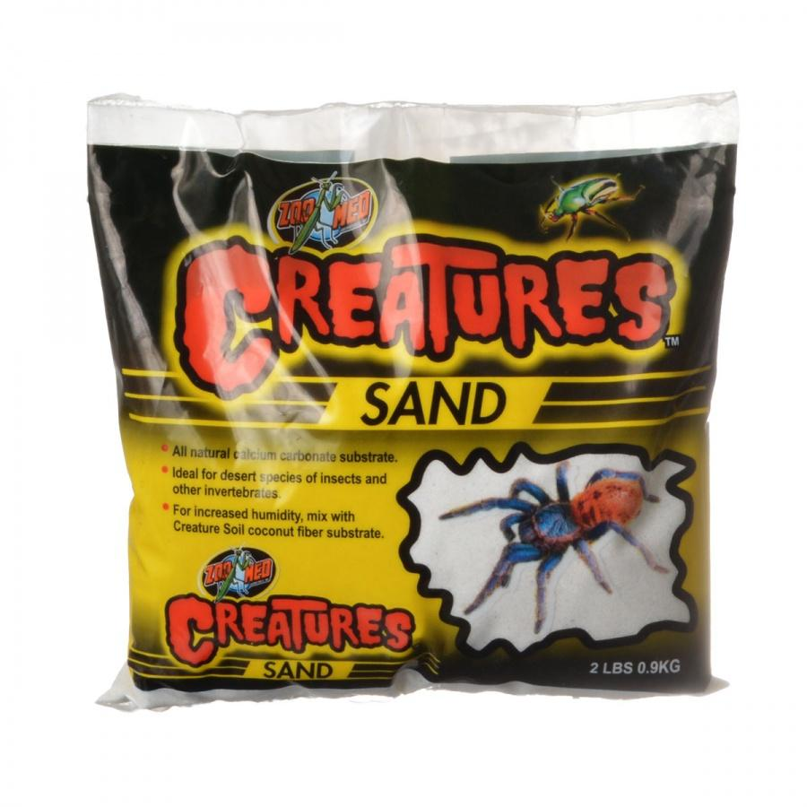 Zoo Med Creatures Sand - White Bedding Zoo Med 2 lbs (0.9 kg)
