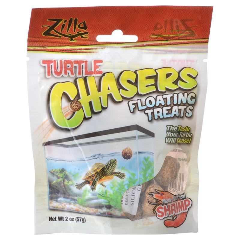 Zilla Turtle Chasers Floating Treats - Shrimp 2 oz