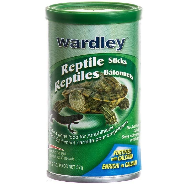 Wardley Reptile Sticks Floating Food