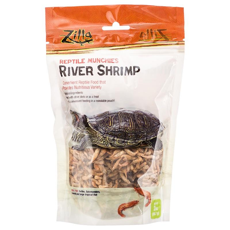 Zilla Reptile Munchies - River Shrimp 2 oz