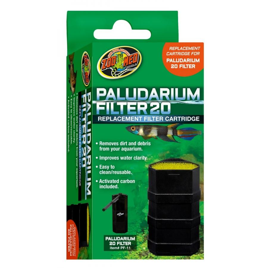 Zoo Med Paludarium Replacement Filter Cartridge Filters & Media Zoo Med 20 Gallons