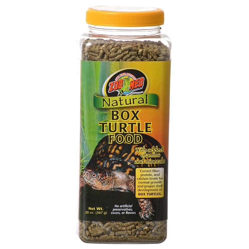Zoo Med Natural Box Turtle Food - Pellets Foods Dry Zoo Med 20 oz