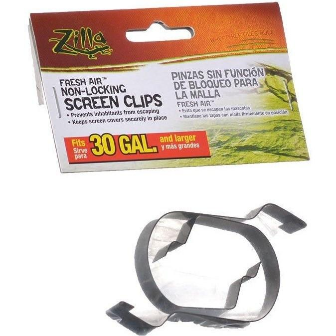 Zilla Fresh Air Non-Locking Screen Clips