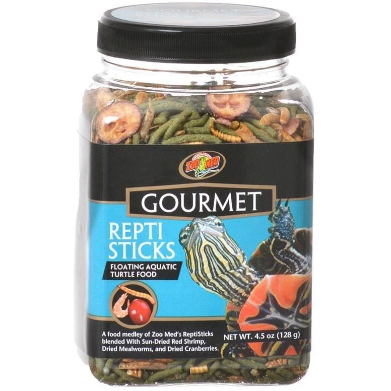 Zoo Med Gourmet Repti Sticks Floating Aquatic Turtle Food Foods Dry Zoo Med 4.5 oz
