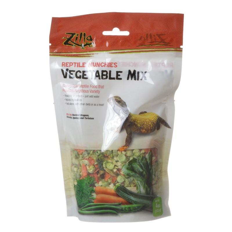 Zilla Reptile Munchies - Vegetable Mix 4 oz