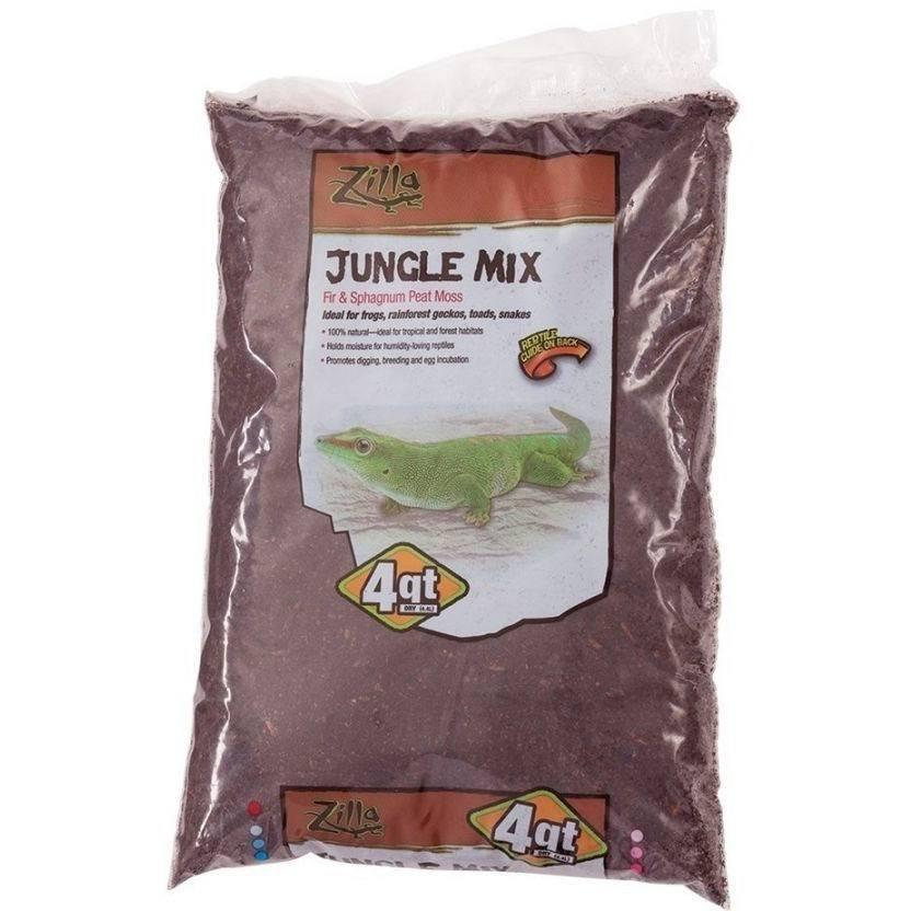Zilla Lizard Litter Jungle Mix - Fir & Sphagnum Peat Moss