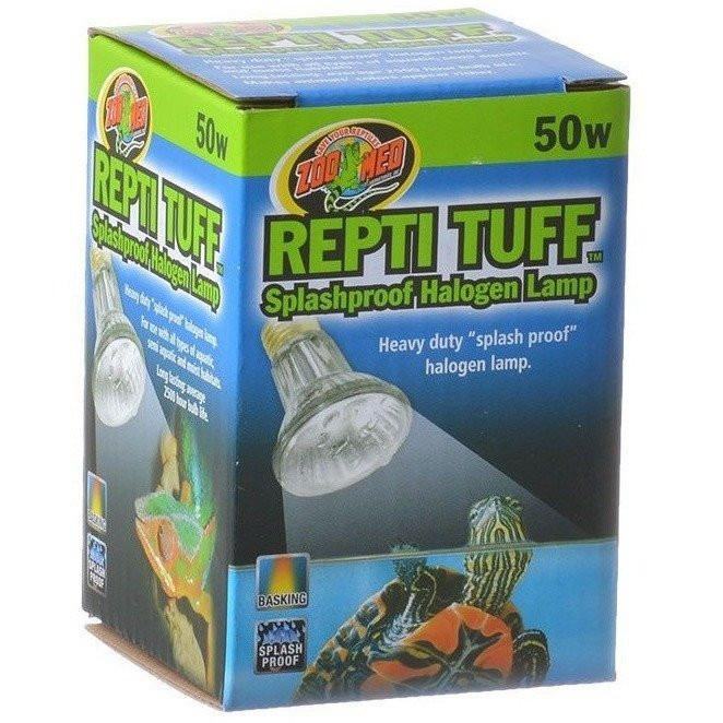 Zoo Med Turtle Tuff Splashproof Halogen Lamp Lighting Incandescent Zoo Med