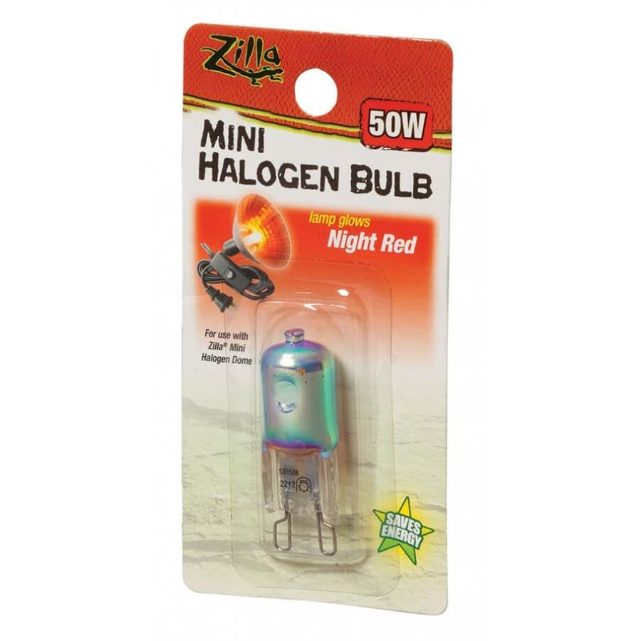 Zilla Mini Halogen Bulb - Night Red - 25W