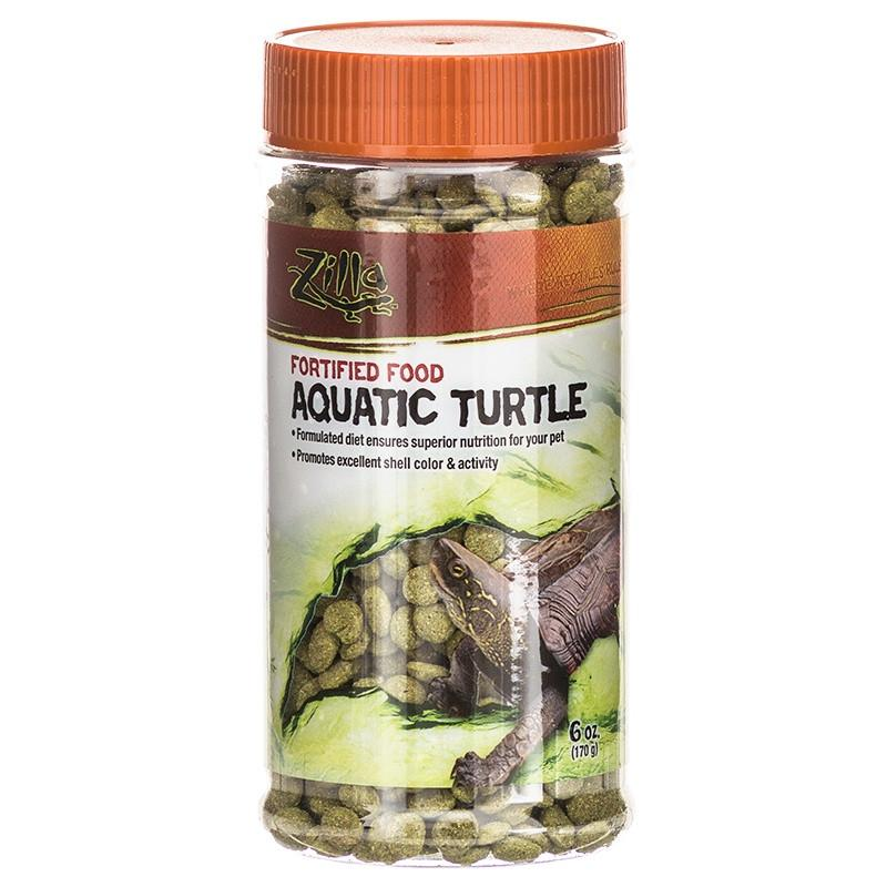 Zilla Aquatic Turtle Food 6 oz