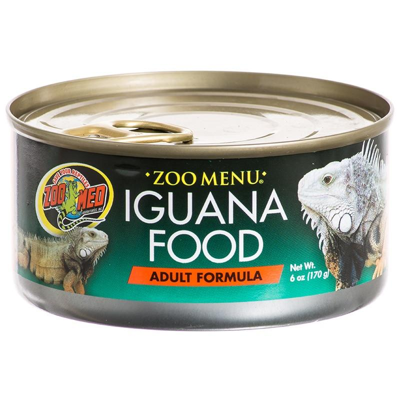 Zoo Med Adult Formula Iguana Food - Canned Foods Canned Zoo Med 6 oz