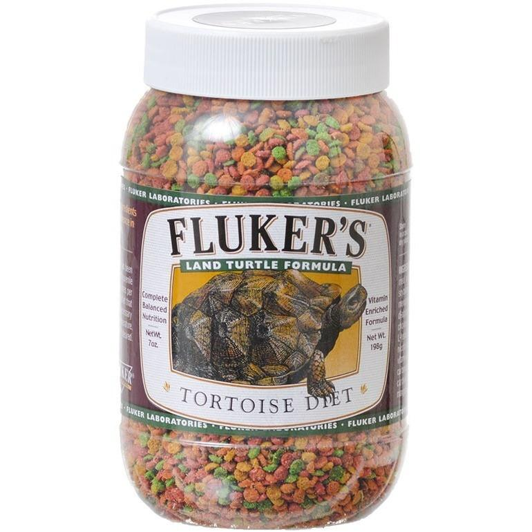 Flukers Tortoise Diet - Small Pellet 3.5 oz