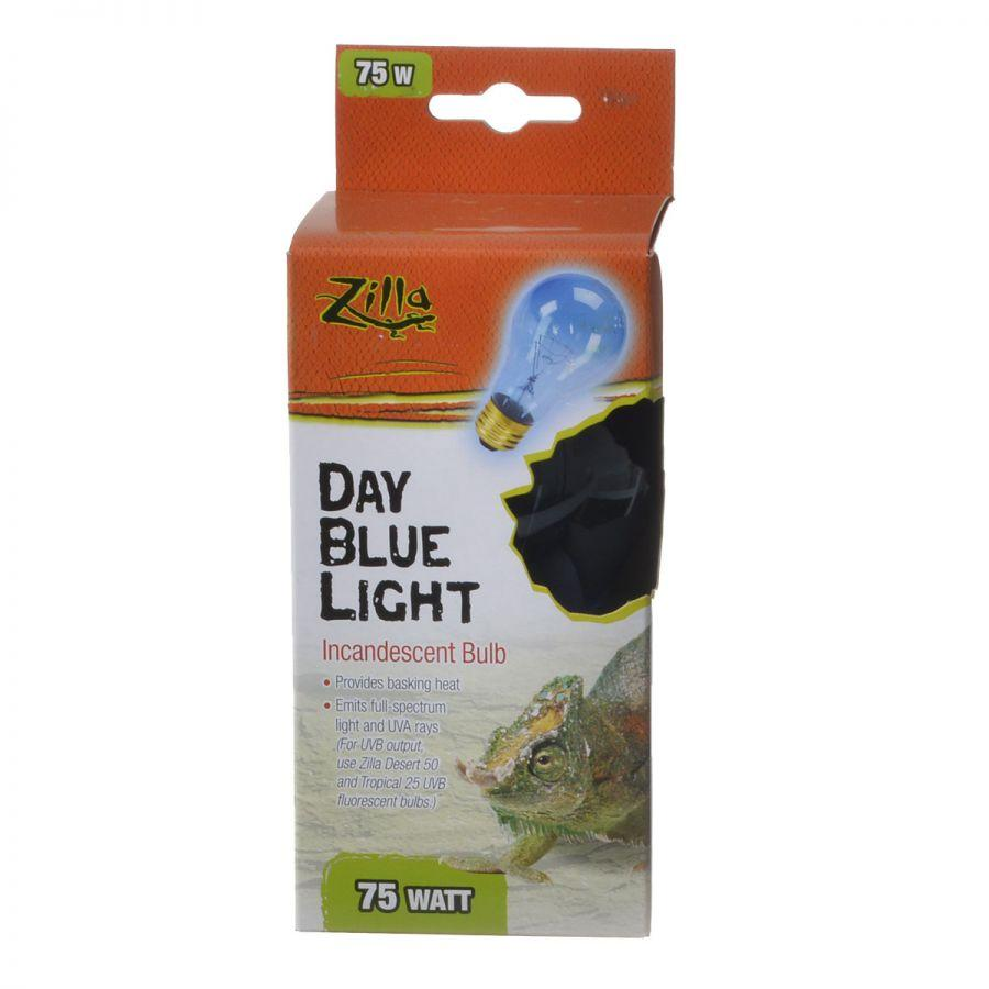 Zilla Incandescent Day Blue Light Bulb for Reptiles 50 Watt