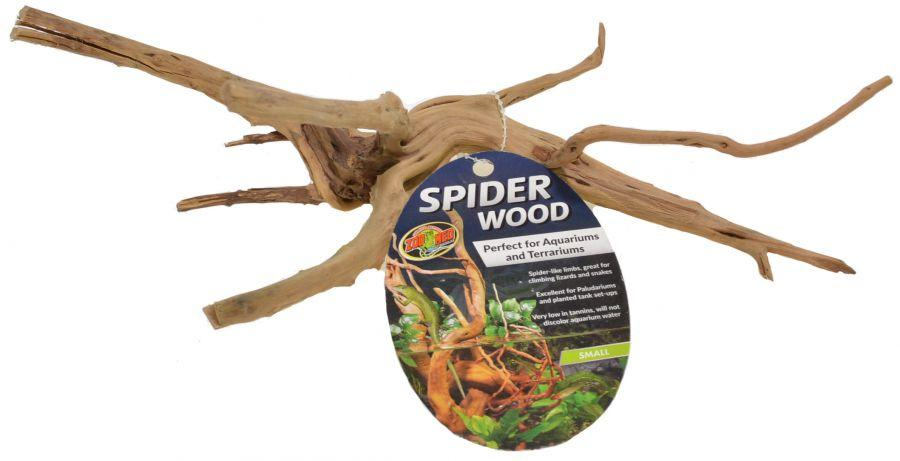"Zoo Med Spider Wood Decorations Zoo Med Small (8-12""L)"