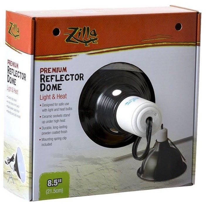 Zilla Premium Reflector Dome - Light & Heat 5.5""