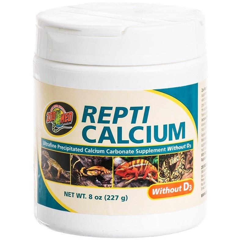 Zoo Med Repti Calcium Without D3 Supplements Zoo Med 8 oz
