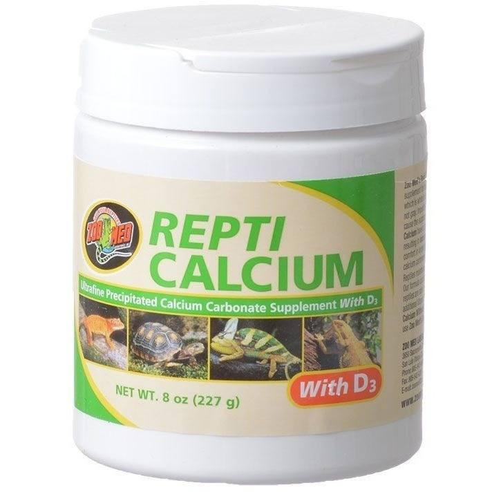 Zoo Med Repti Calcium With D3 Supplements Zoo Med 8 oz