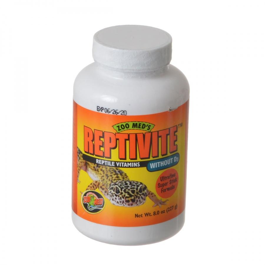 Zoo Med Reptivite Reptile Vitamins without D3 2 oz