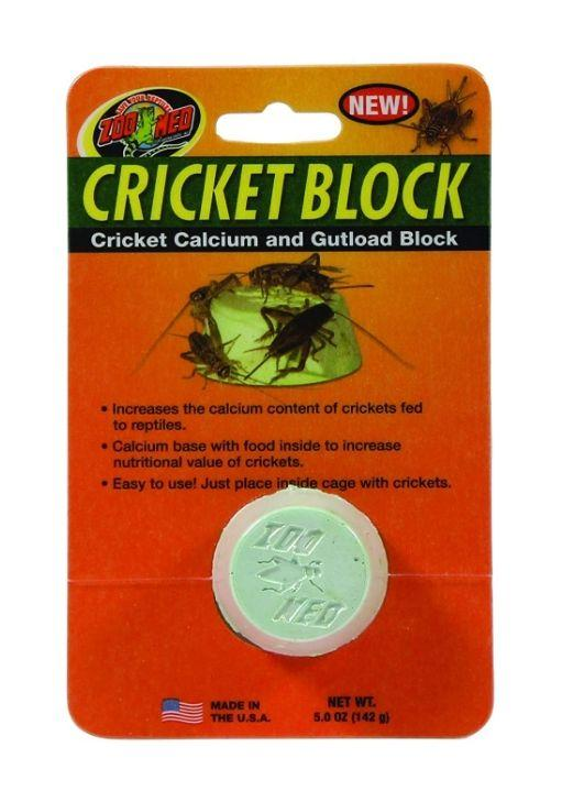Zoo Med Regular Cricket Blocks Gut load Block Supplements Zoo Med 1 count