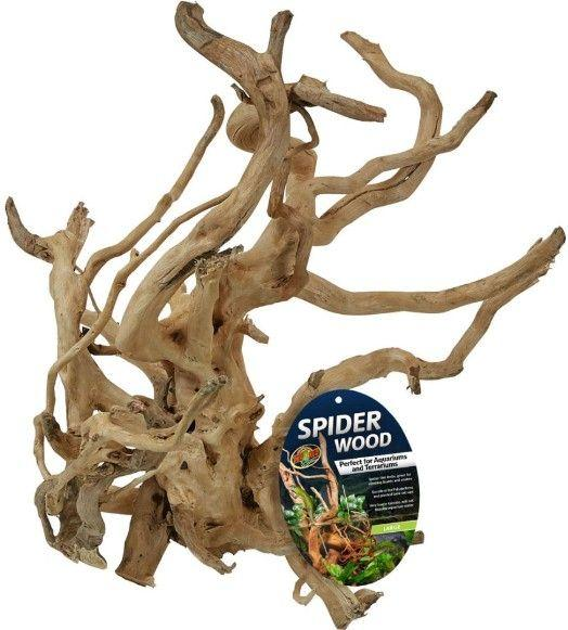 "Zoo Med Spider Wood Decorations Zoo Med Large (16-20""L)"