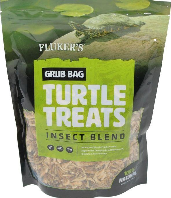 Flukers Grub Bag Turtle Treat - Insect Blend Foods Dry Flukers 6 oz