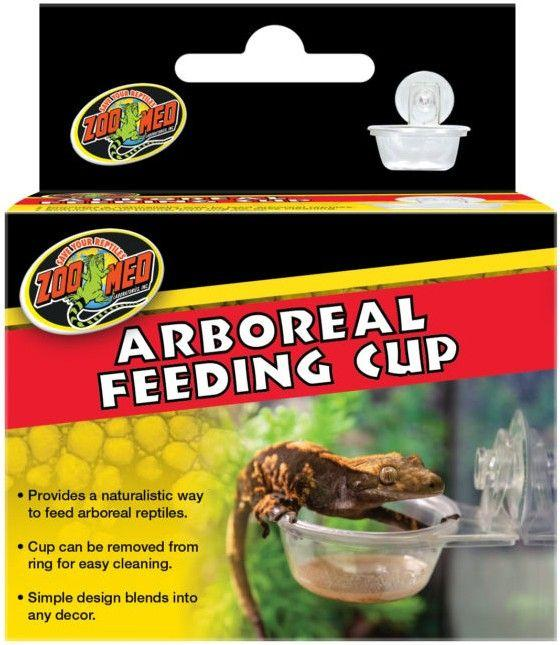 Zoo Med Arboreal Feeding Cup Bowls & Dishes Zoo Med 1 count
