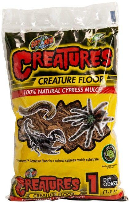 Zoo Med Creature Floor Substrate Bedding Zoo Med 1 quart