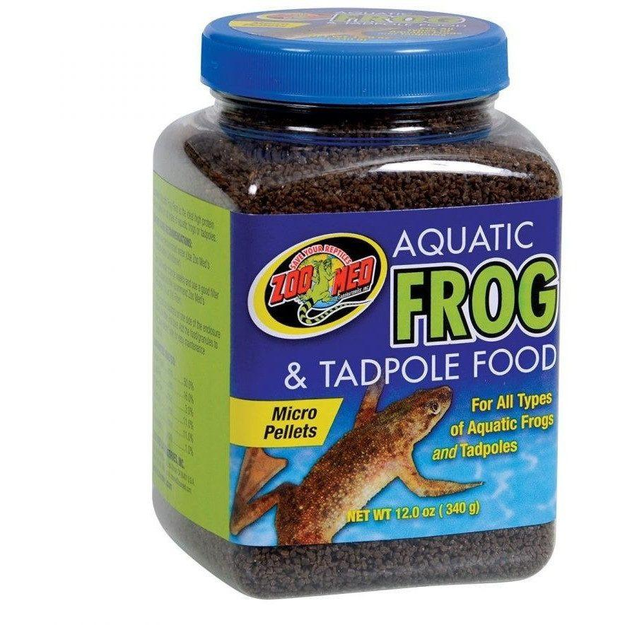 Zoo Med Aquatic Frog & Tadpole Food Foods Dry Zoo Med 2 oz