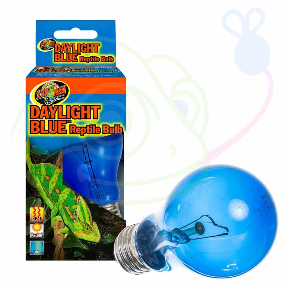 Zoo Med Daylight Blue Reptile Bulb Lighting Incandescent Zoo Med