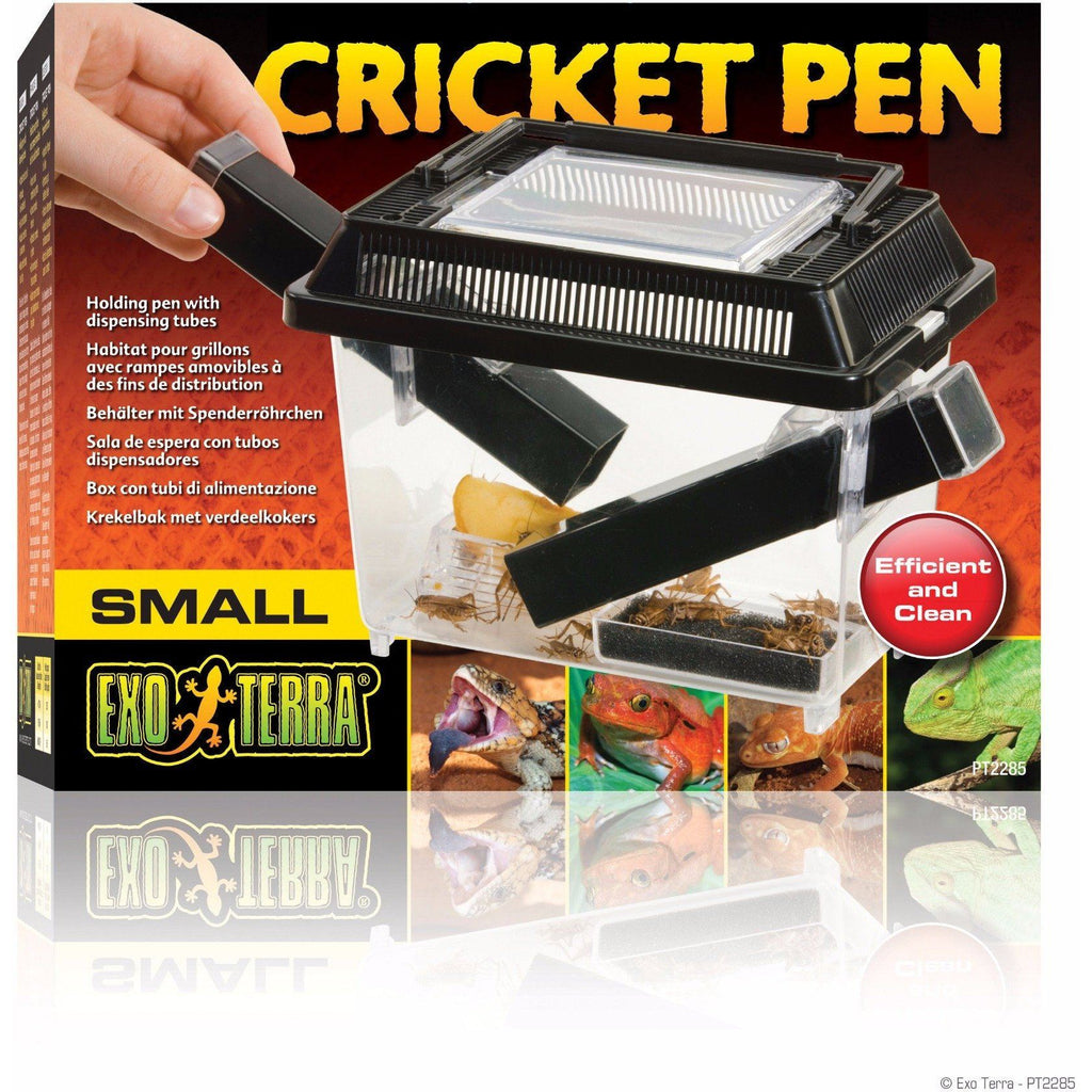 "Exo Terra Cricket Pen Cages & Pens Exo Terra Small - (7.3""L x 4.6""W x 5.9""H)"