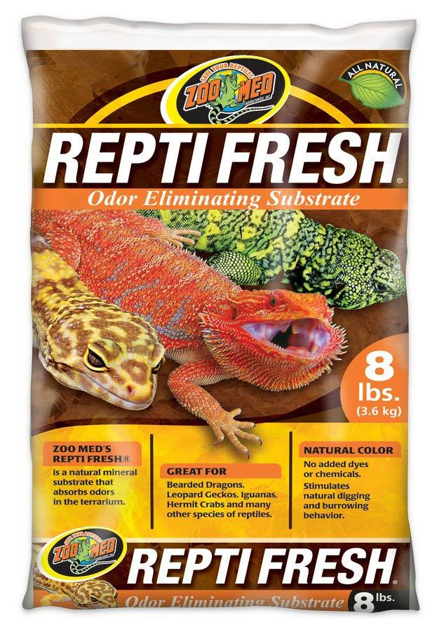Zoo Med ReptiFresh Odor Eliminating Substrate Bedding Zoo Med 8 lbs