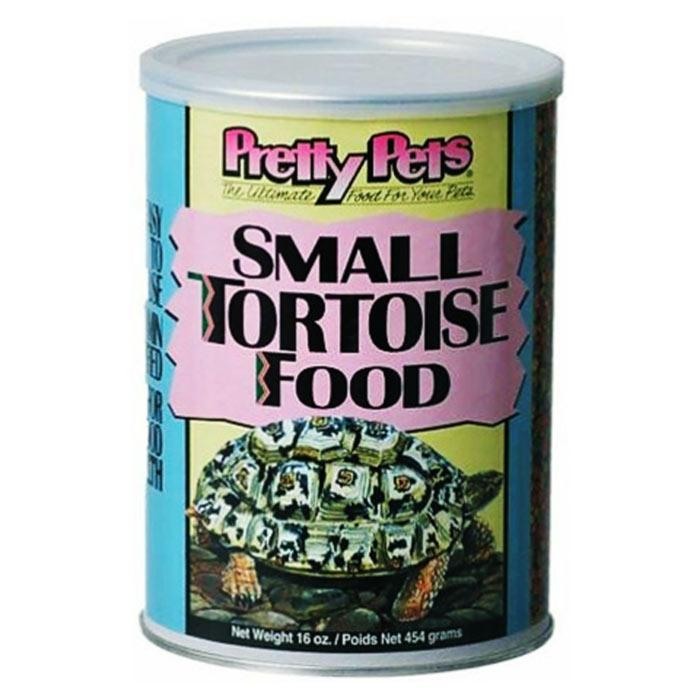 Pretty Pets Small Tortoise Food 16oz Can - Best Pellet Tortoise Food