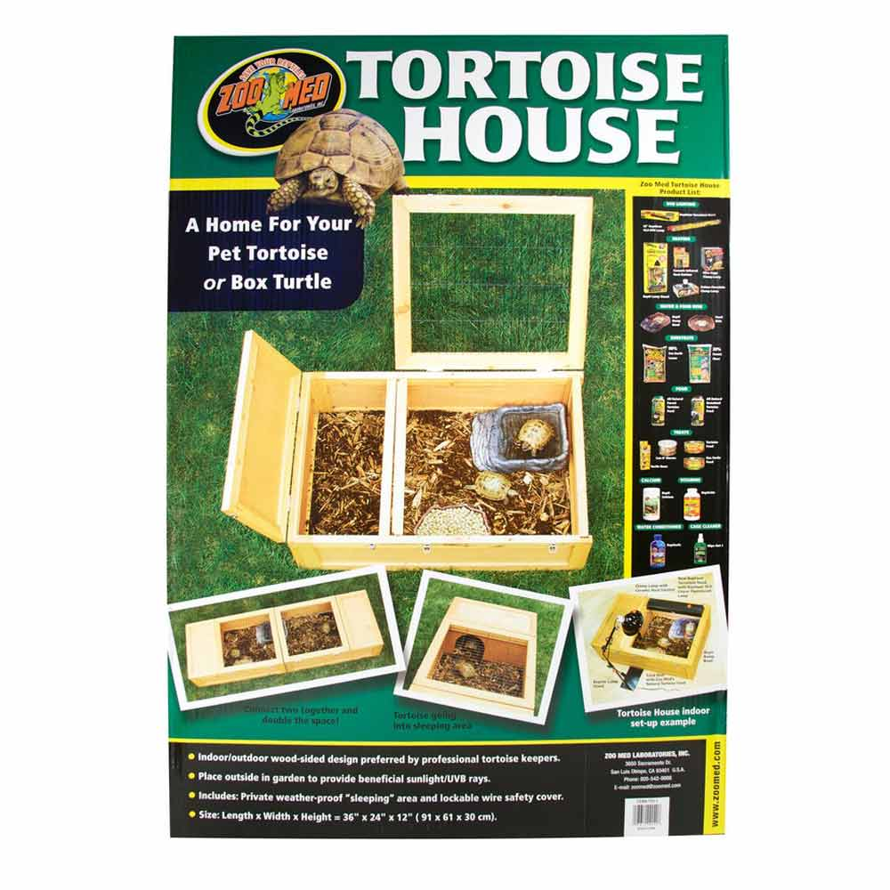 Zoo Med Tortoise House Cages & Pens Enclosure Zoo Med