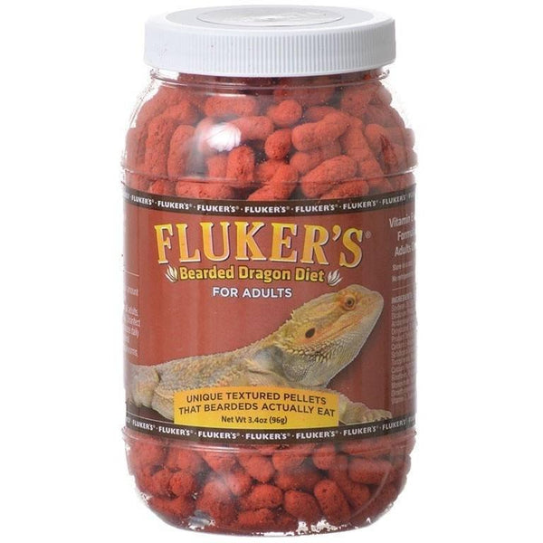 Reptile Foods Flukers Bearded Dragon Diet For Adults