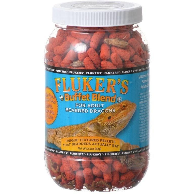 Flukers Buffet Blend for Adult Bearded Dragons 2.9 oz