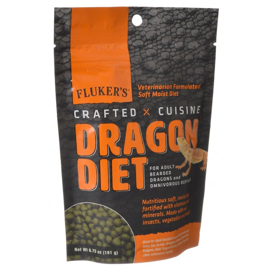 Flukers Crafted Cuisine Dragon Diet - Adults