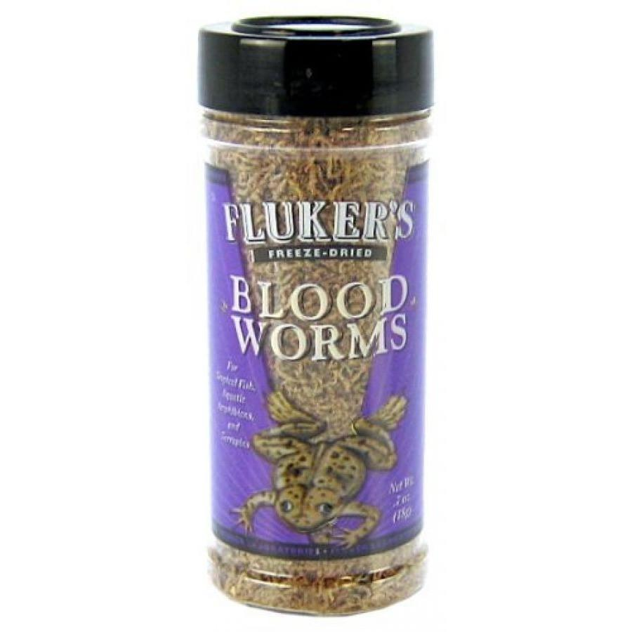 Flukers Freeze Dried Bloodworms 0.7 oz