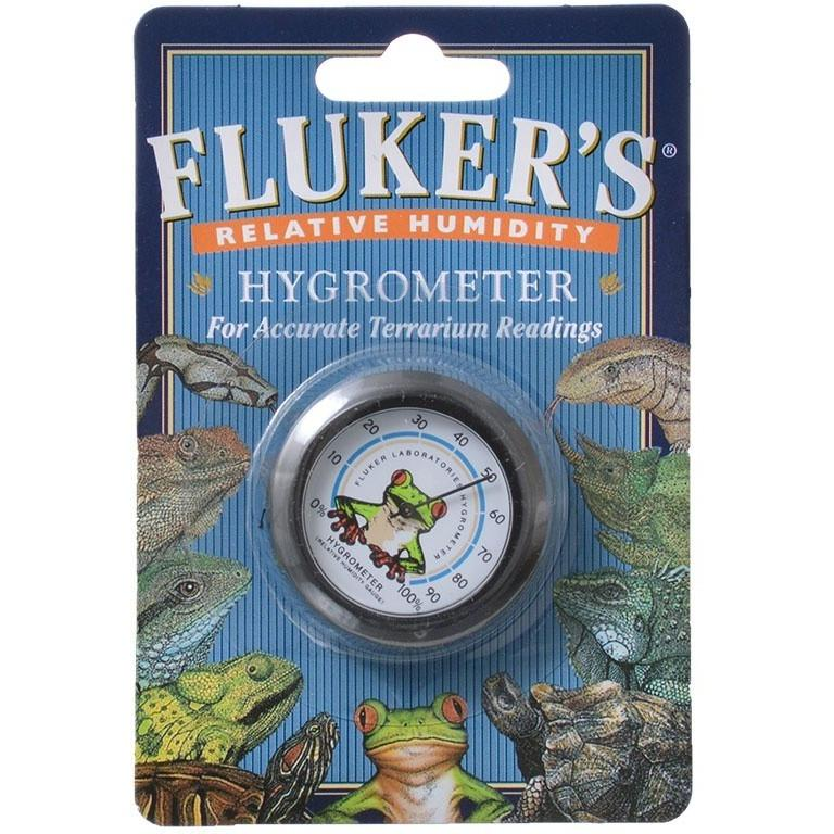 Flukers Relative Humidity Hygrometer 1 Pack