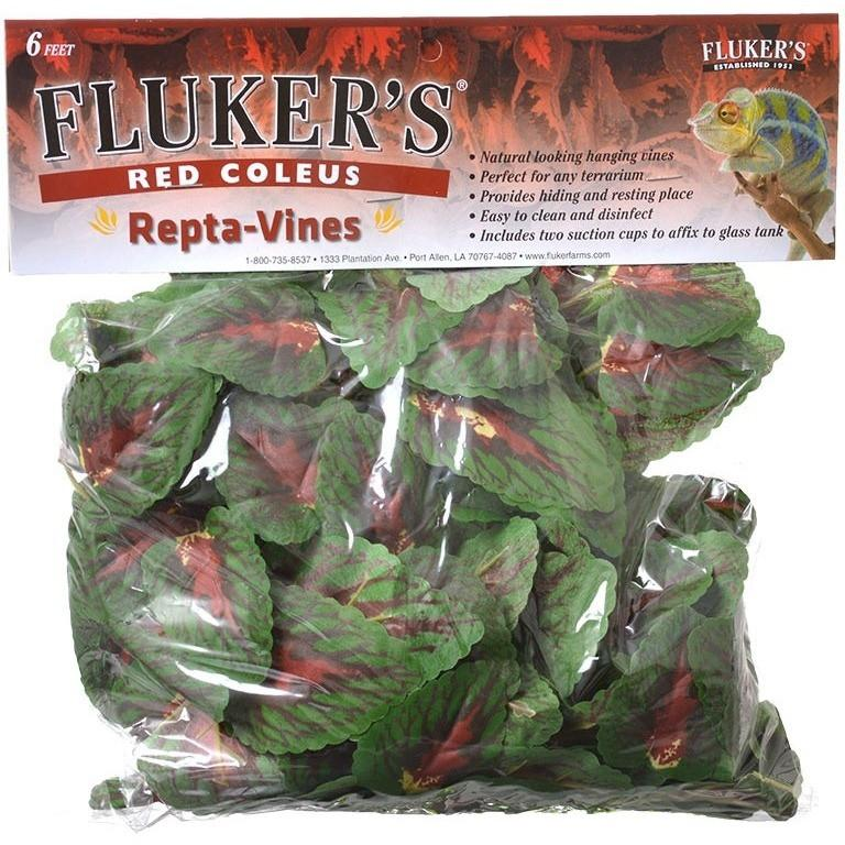 Flukers Red Coleus Repta-Vines 6' Long
