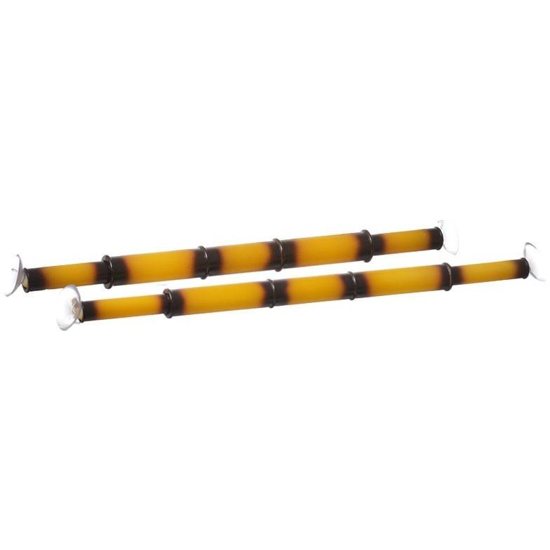 Flukers Spring Loaded Bamboo Bars Climbing Items Flukers