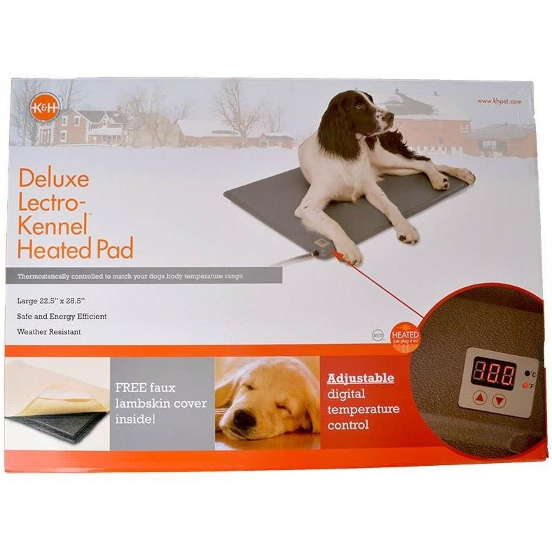 K&H Manufacturing Deluxe Lectro-Kennel Heated Pad & Cover...