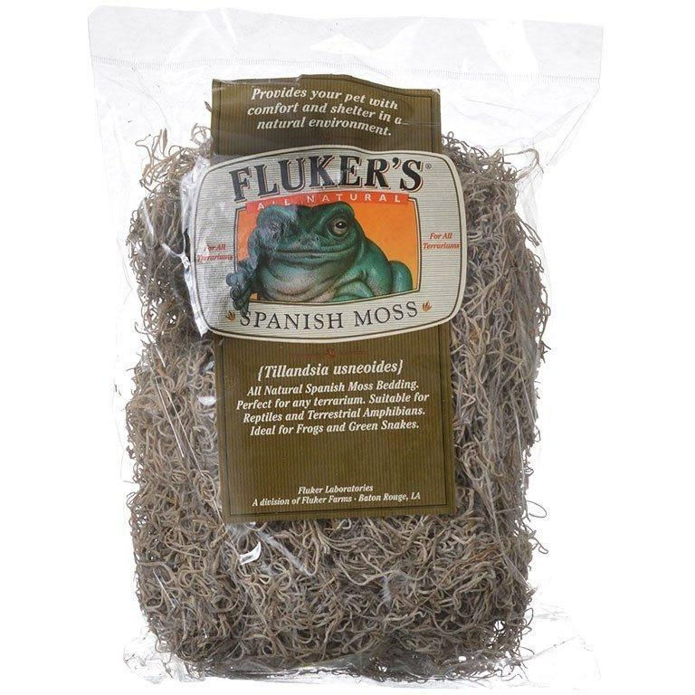 Flukers All Natural Spanish Moss Bedding Small (4 Dry Quarts)
