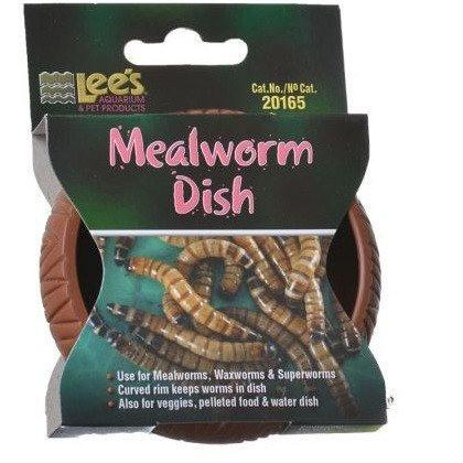 "Lee's Mealworm Dish - Plastic - MEALWORM FEEDING DISH Bowls & Dishes Lee's 3"" Diameter"