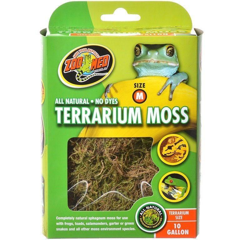 Zoo Med All Natural Terrarium Moss Small (5 Gallon Terrariums)