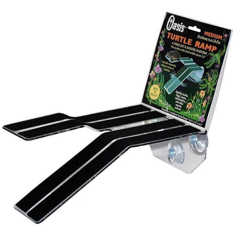 "Kordon Turtle Ramp & Platform Medium (11""L x 6.5""W x 3""H)"