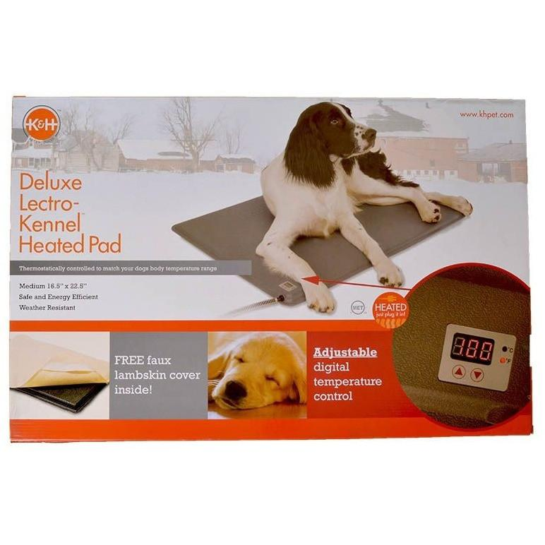 "Deluxe Lectro-Kennel Heated Pad & Cover Small - 18.5"" Long x 12.5"" Wide"