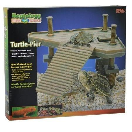 "Reptology Floating Turtle Pier 14""L x 9.5""W x 12""H"