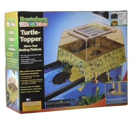 Penn Plax REP600 Turtle Topper Above Tank Basking Platform