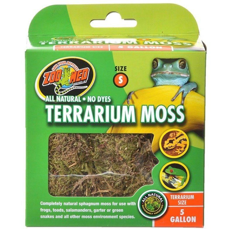 Zoo Med All Natural Terrarium Moss Sphagnum Moss Substrate